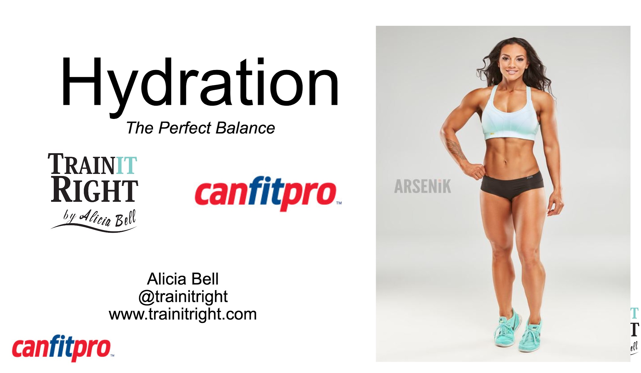 Alicia Vell - CanfitPro World Fitness Expo