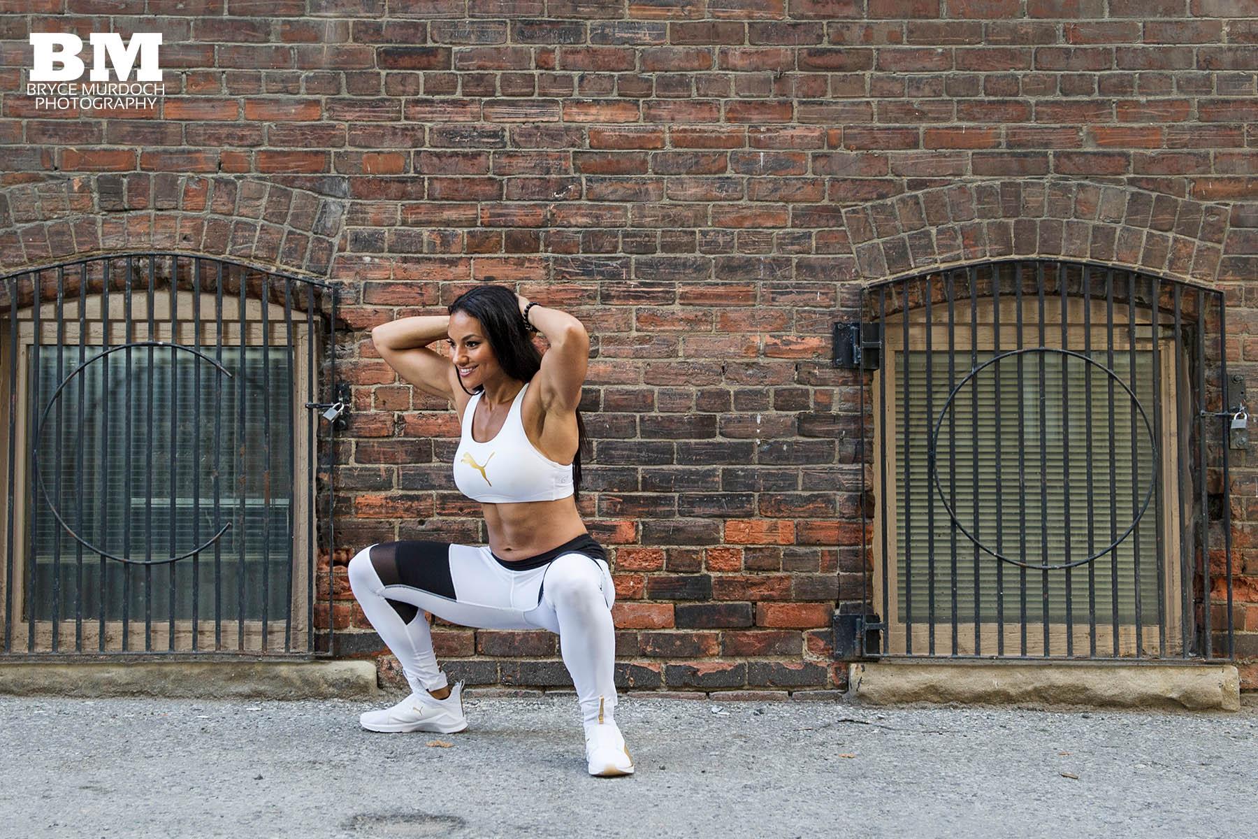 Alicia Bell - Squat - Fitness Expert - Toronto