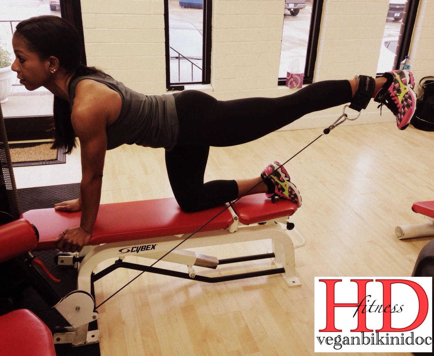 Learn How To Build Your Glutes With Cable Kickbacks Train It Right By Alicia Bell Worldwide